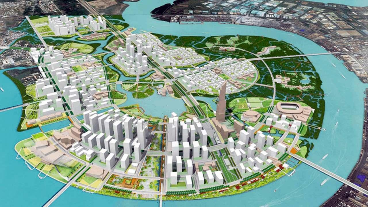 Thủ Thiêm – Quy hoạch, hiện trạng & Danh sách dự án triển khai 2021