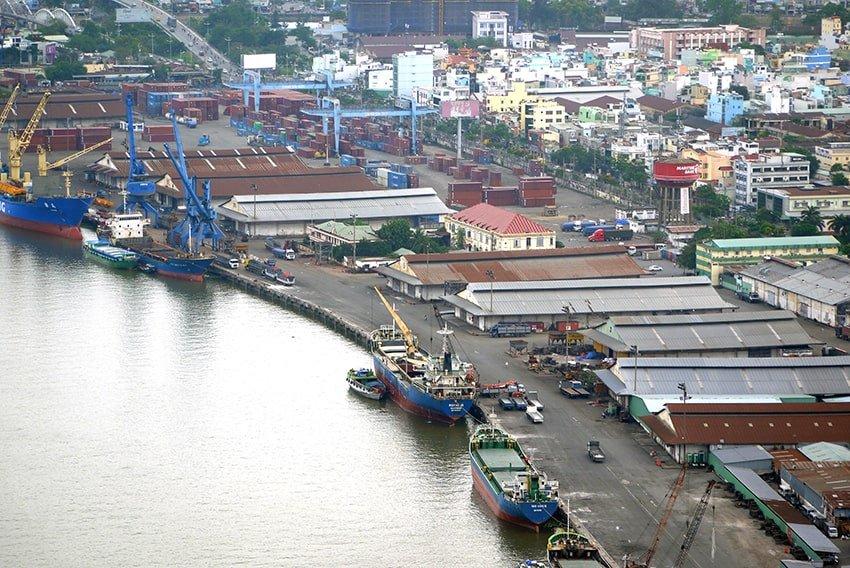 Cảng Khánh Hội – cập nhật tiến độ di dời 2020