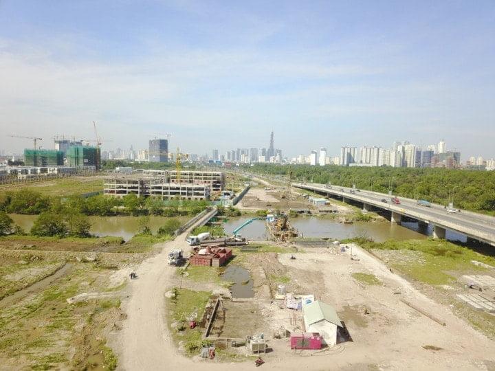 Đường Song hành cao tốc Quận 2 khi nào hoàn thiện?