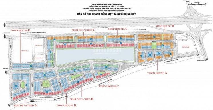 mat bang lakeview city