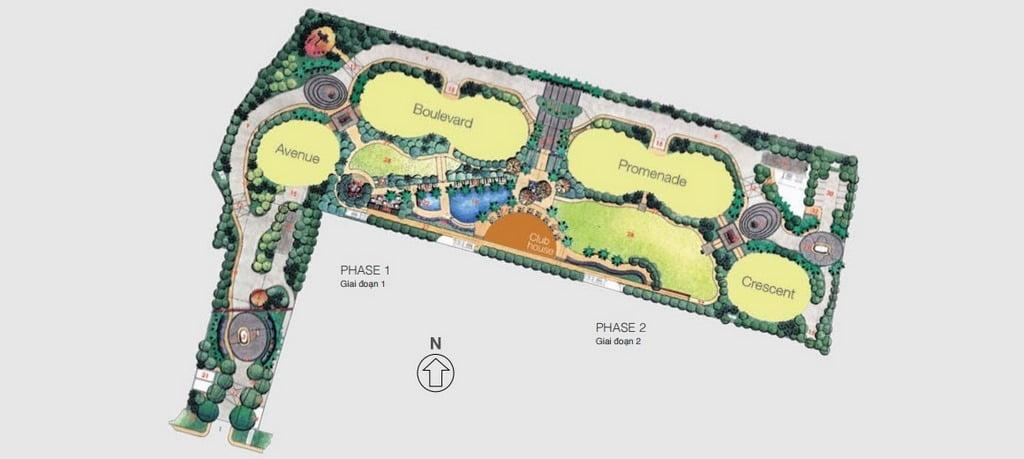 mat bang city garden
