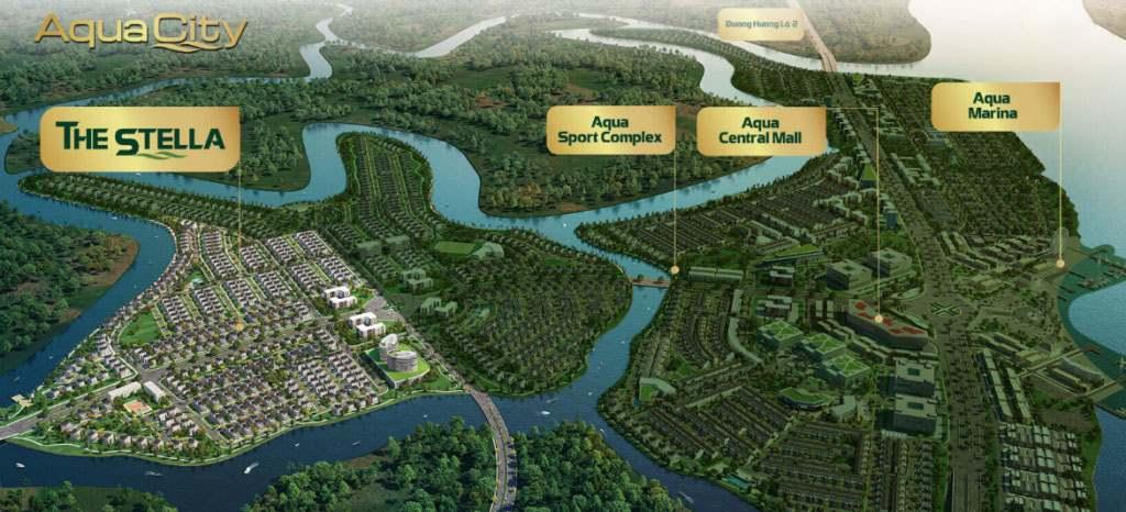 The Stella Aqua City -【GIÁ BÁN 2021】& 5 Điểm nổi bật nên biết