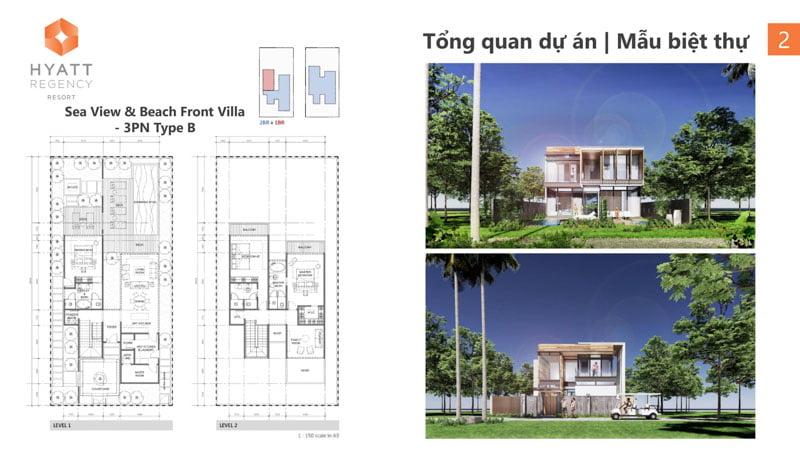 mat bang sea view villa hyatt regency ho tram