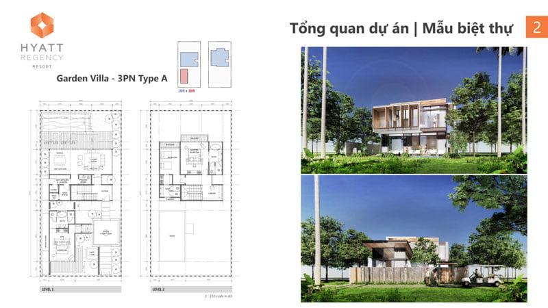 mat bang garden villa hyatt regency ho tram