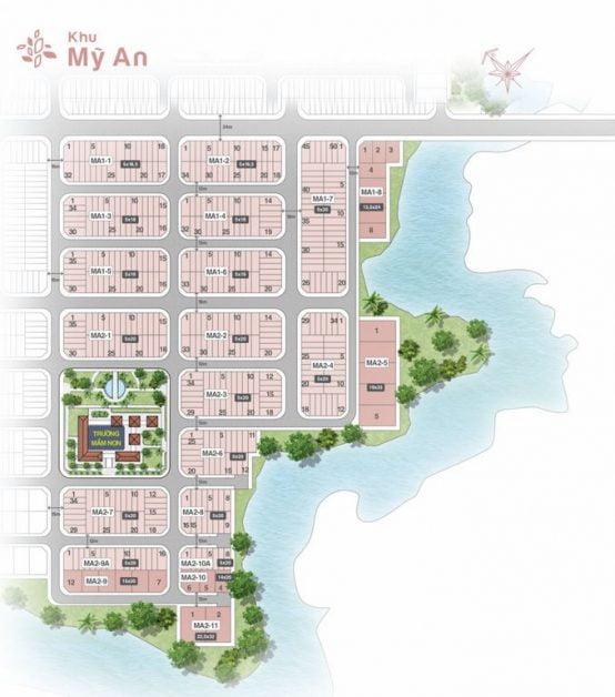 mat bang khu my an bien hoa new city