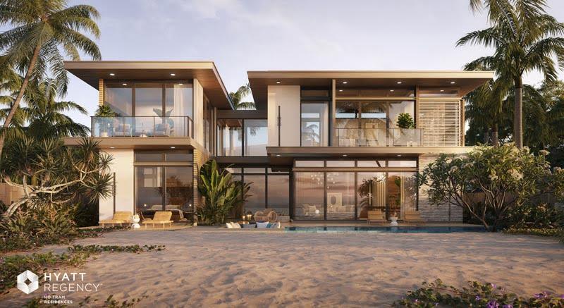 beachfront villa hyatt regency ho tram