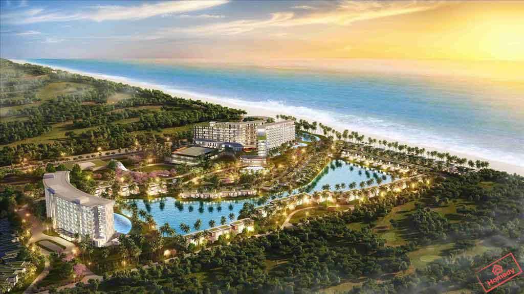 phoi canh du an Mövenpick Resort Waverly