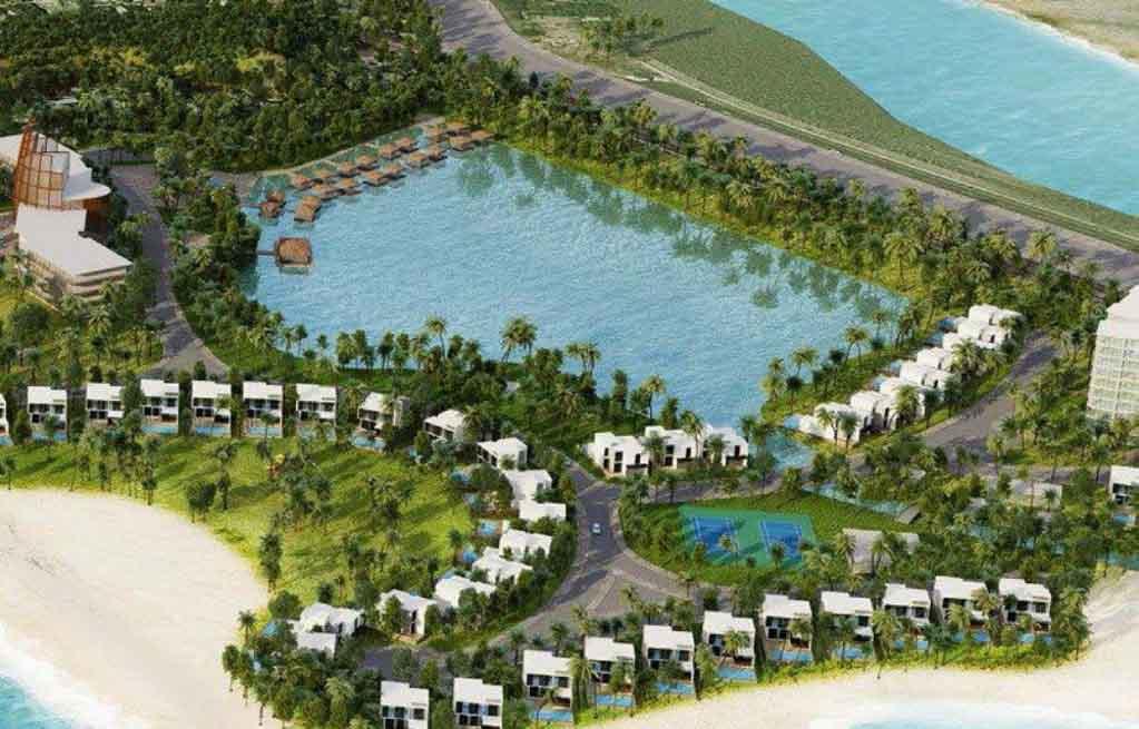 phoi canh tong the du an lancaster nam o resort