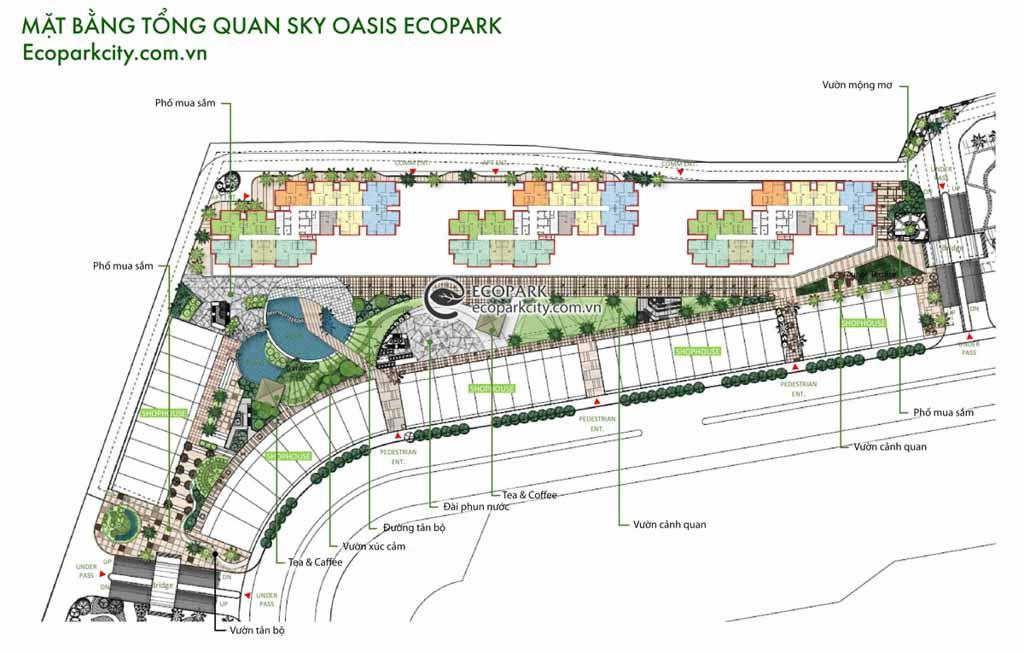 mat bang tong the du an sky oasis