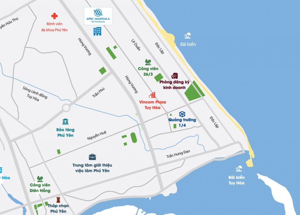 Vị trí Apec Mandala Wyndham Phú Yên ở đâu? Có tiềm năng gì?