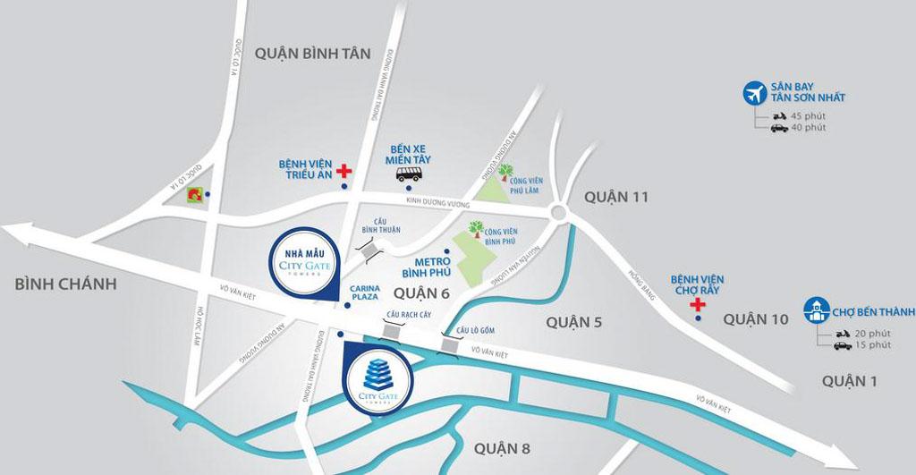 Vị trí City Gate 5 ở đâu? Có tiềm năng gì?