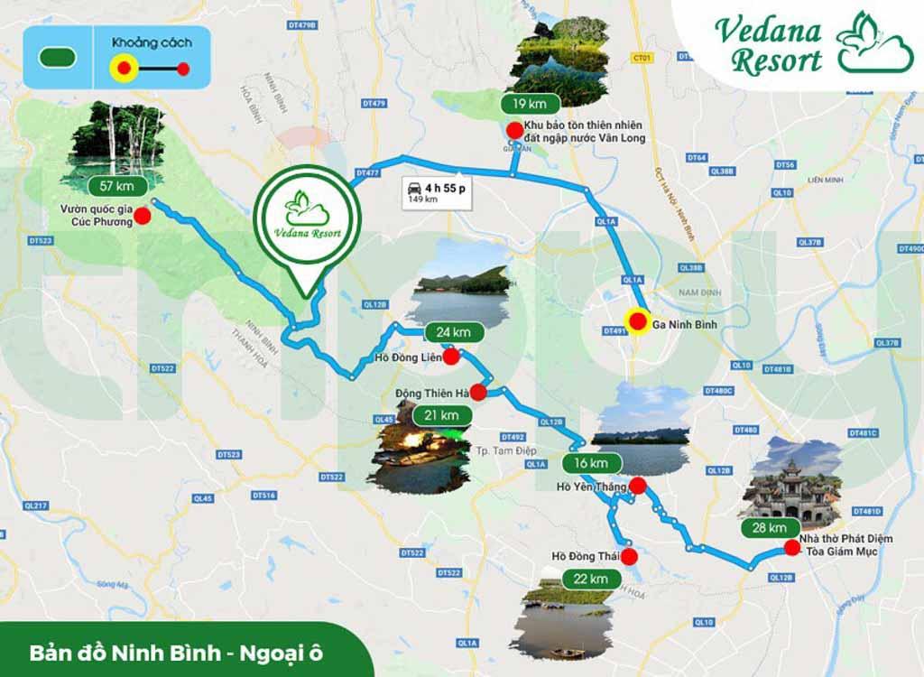 Vị trí Vedana Resort Ninh Bình ở đâu? Điểm mạnh yếu?